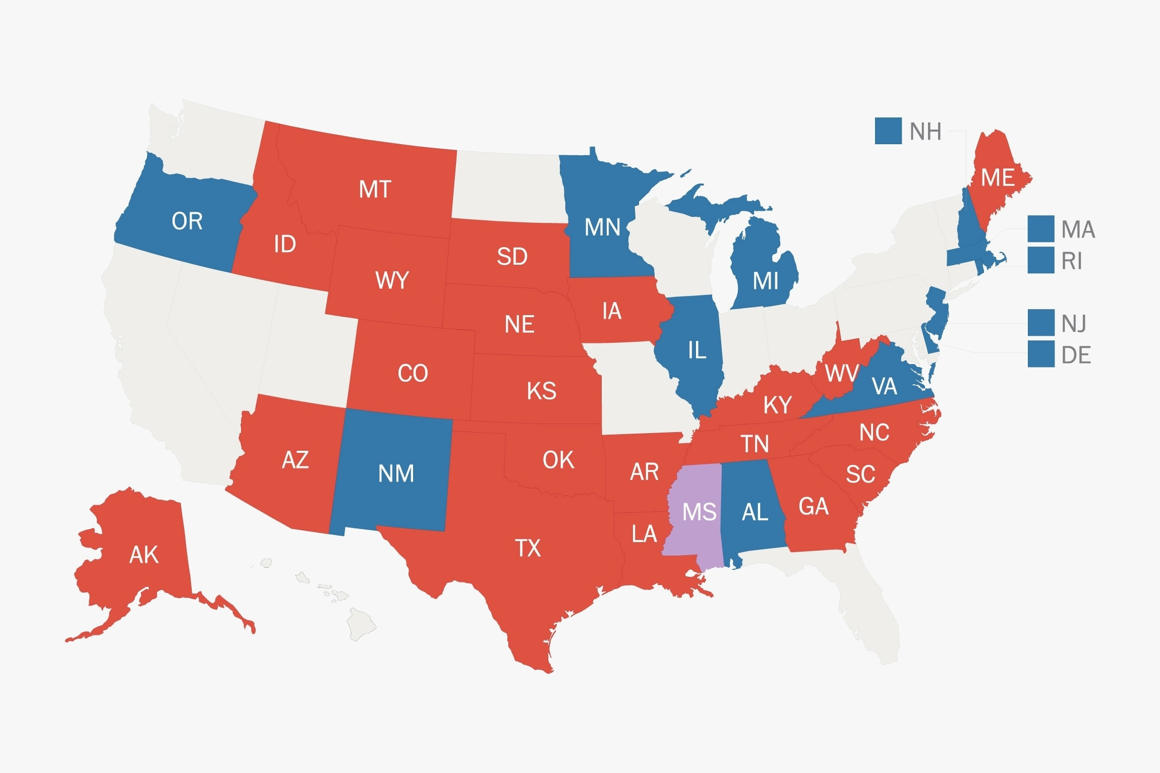 2020 Senate Elections Map: A Difficult Year For Democrats with regard to Calif 2020 Election Map