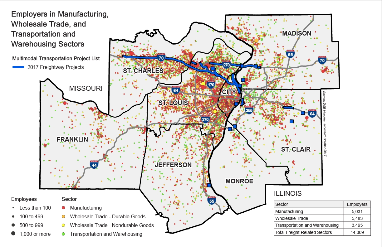 A Closer Look At The Model For Public-Private Sector Freight with regard to Boeing St. Louis Facility Map