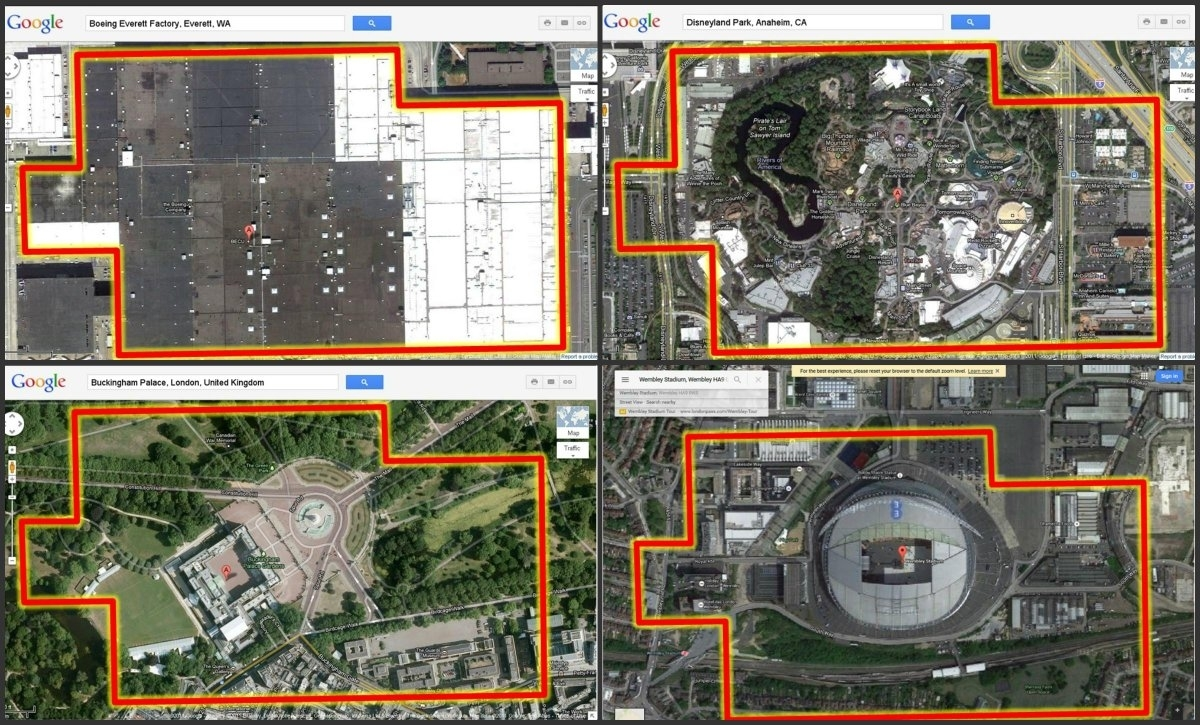 "Bbc Radio 4 Today On Twitter: ""the @boeing Everett Factory within Boeing Everett Factory Google Maps"