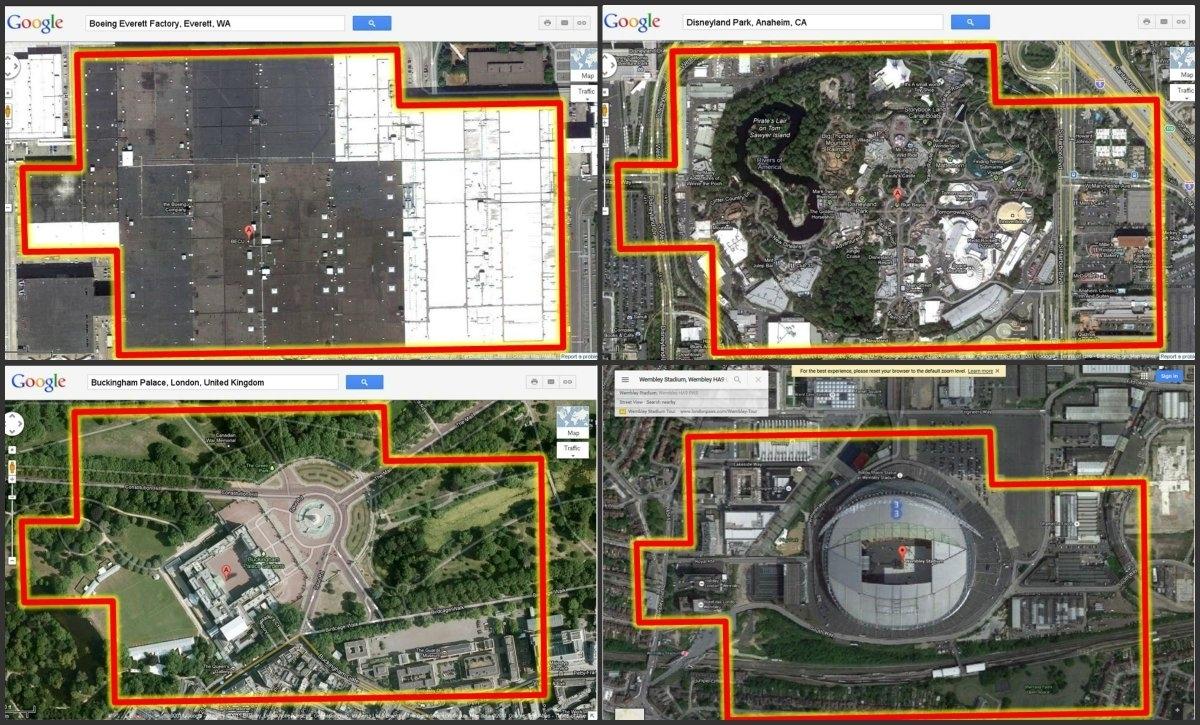 "Bbc Radio 4 Today On Twitter: ""the @boeing Everett Factory within Boeing Everett Factory Google Maps"