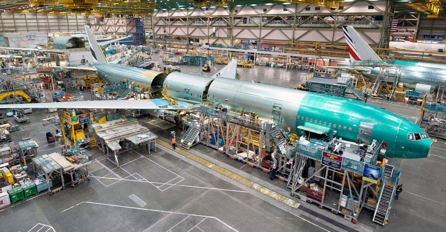 Boeing Builds A 737 In Just 9 Days throughout Boeing Renton Factory Map