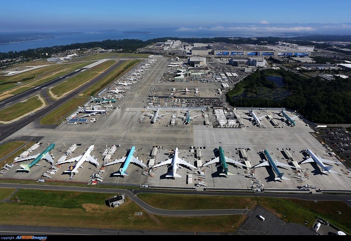 Boeing Everett Factory | Boeing Everett Factory | Washington pertaining to Boeing Everett Factory Site Map