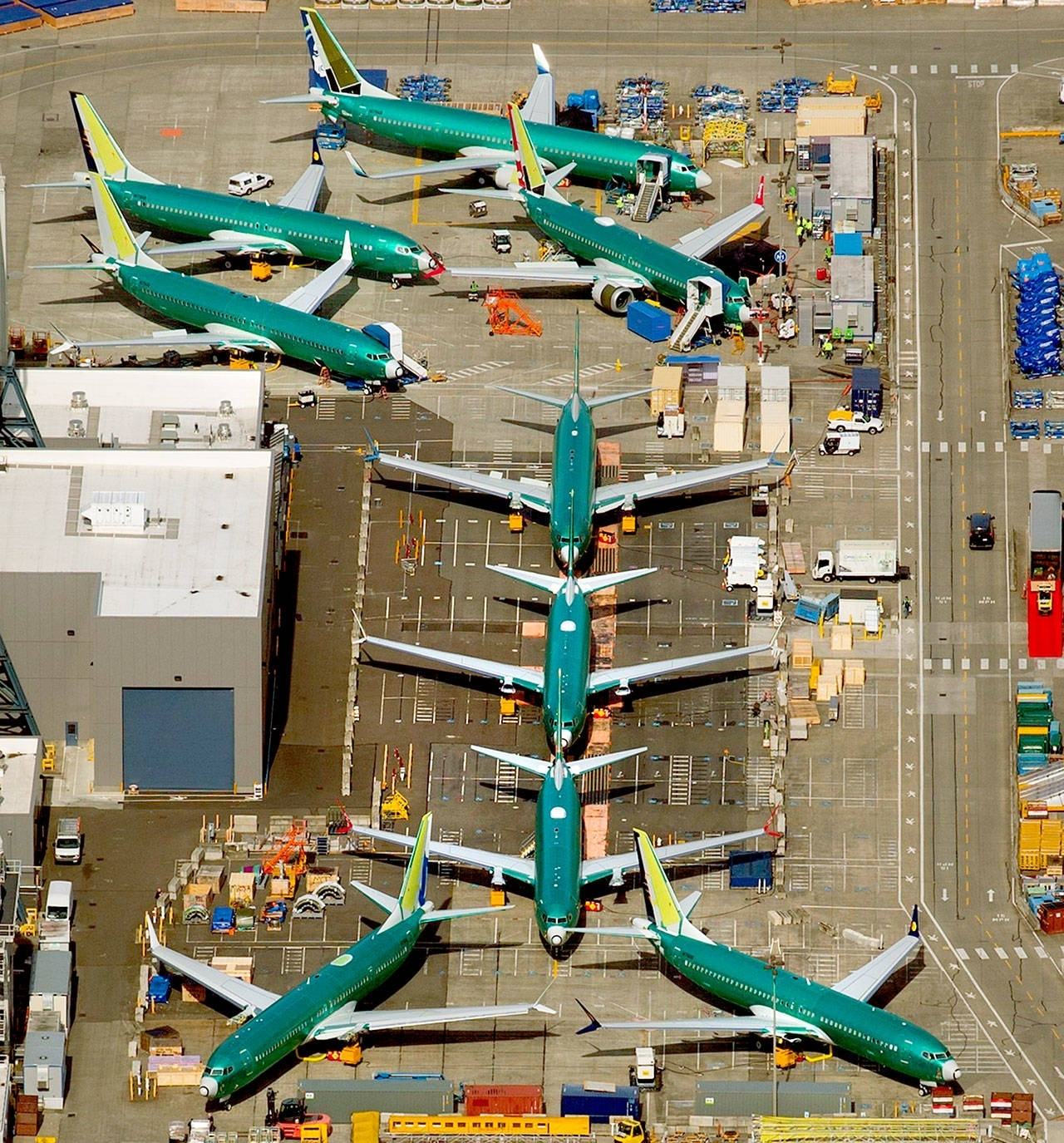 Boeing Faces Hurdles To Return The 737 Max Fleet To Service inside Boeing Renton Plant Site Map