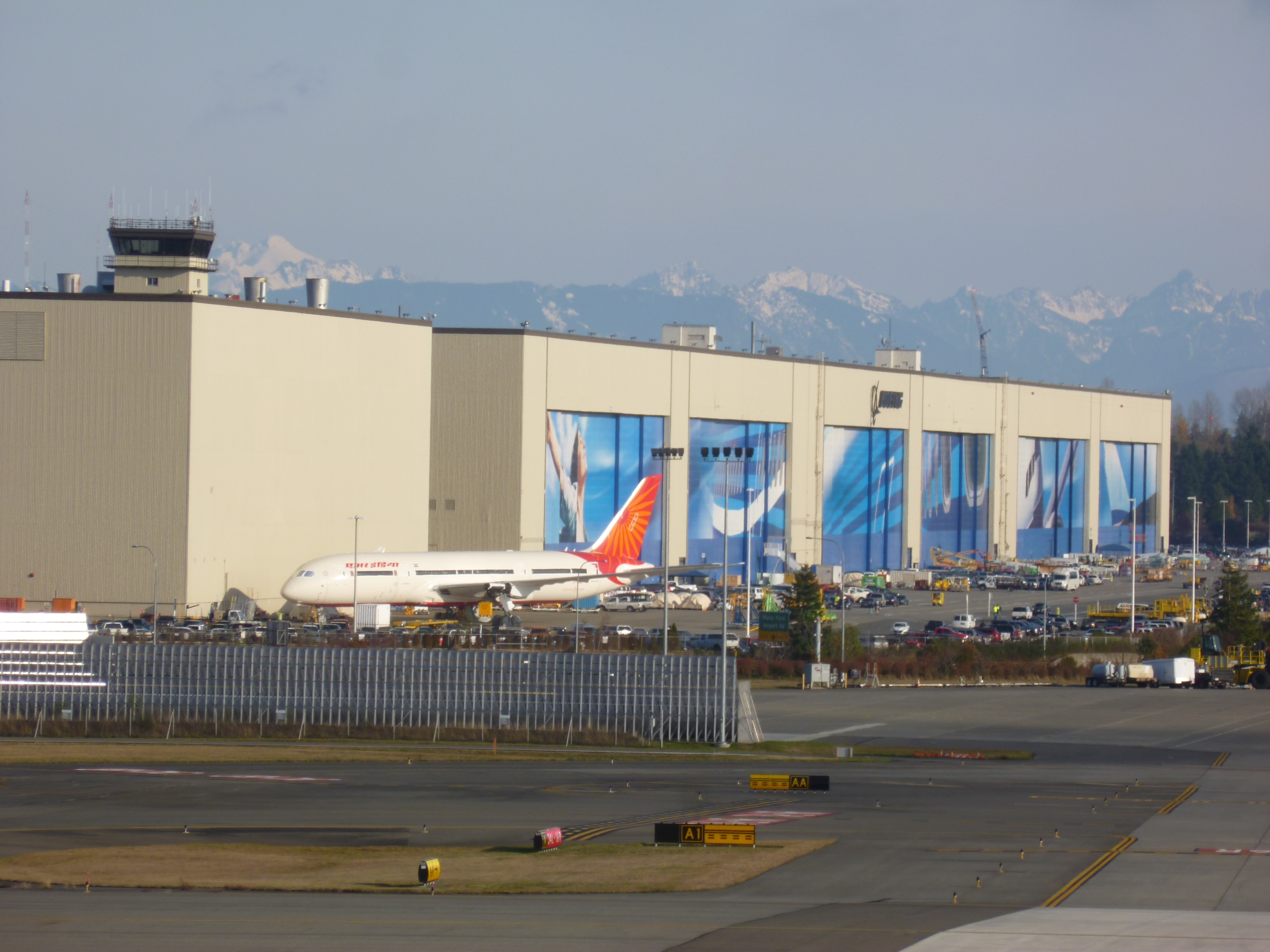 Boeing Factory Tour – Deano In America for Boeing Everett Facility Map