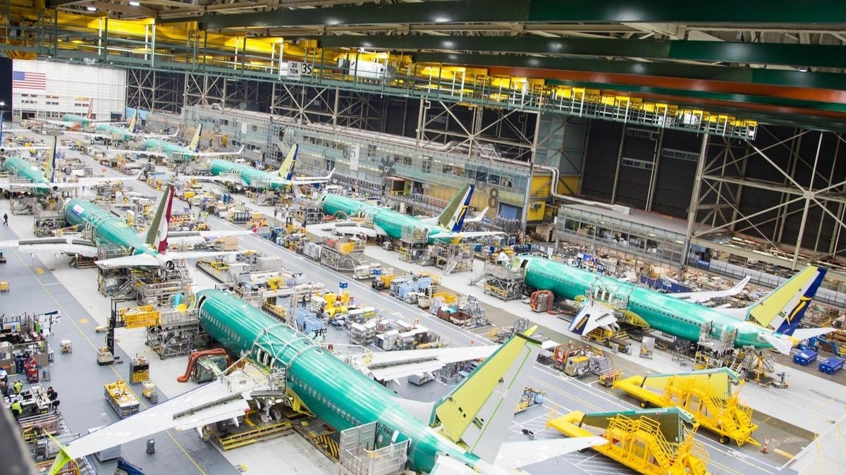 Boeing Plans To Boost 737 Production To 63 Per Month, Renton in Boeing Renton Plant Map