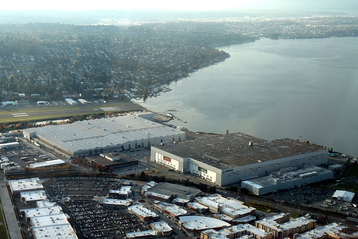 Boeing Renton Factory - Wikipedia intended for Boeing Renton Plant Map