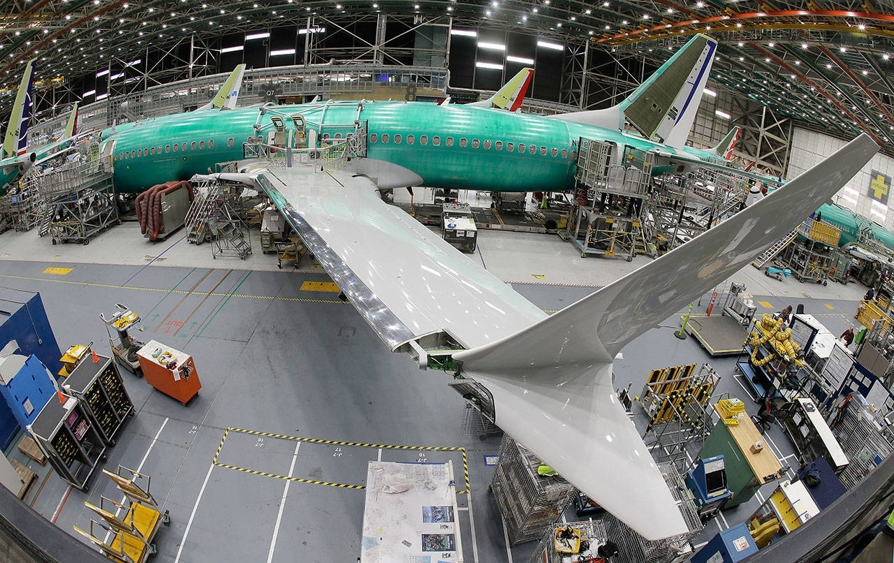 Boeing To Cut Production Rate Of 737S In Renton19 within Boeing Renton Factory Map
