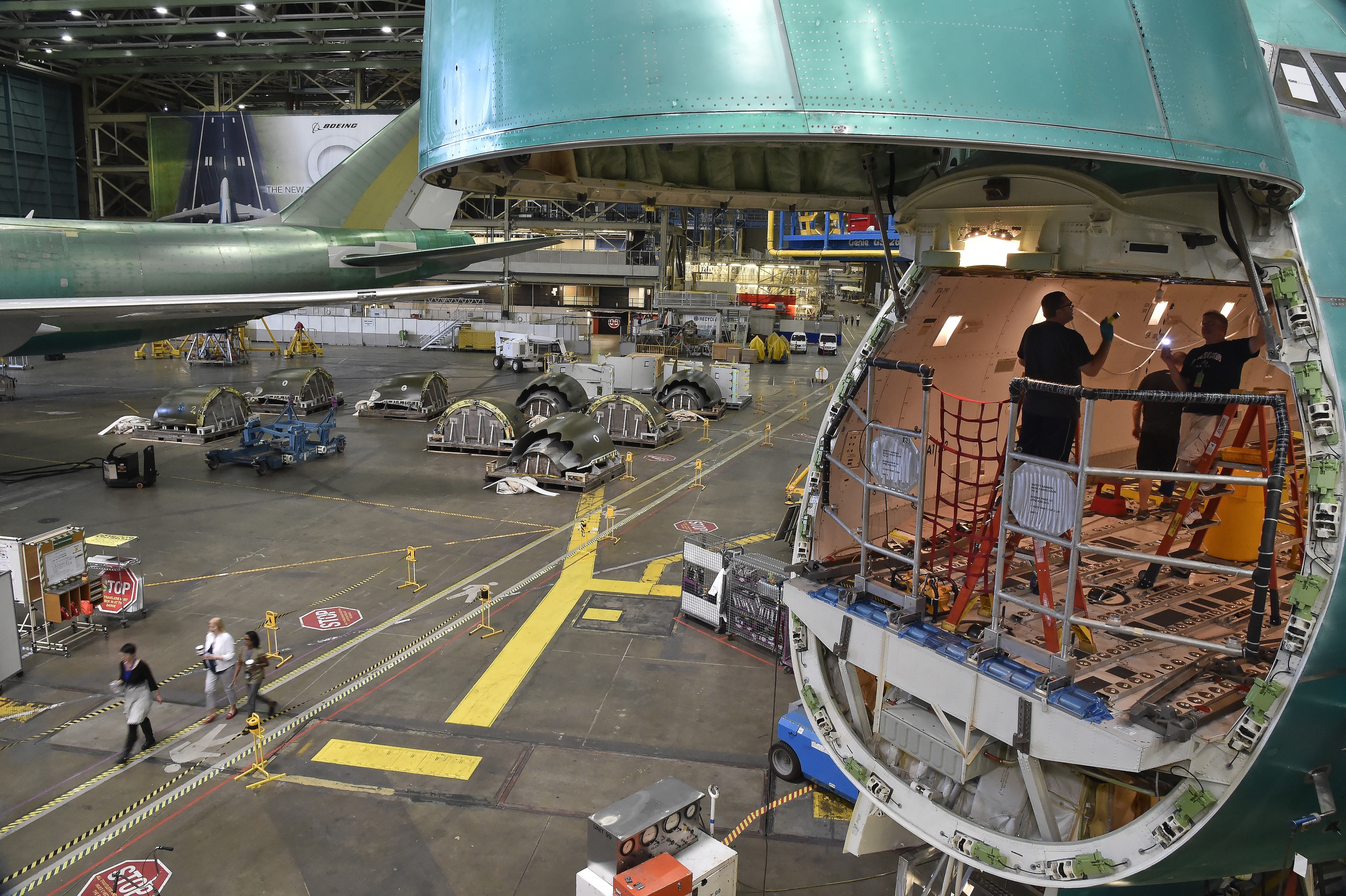 Boeing's Vip Tour Is Big, Really Big - Aopa throughout Boeing Everett Factory Google Maps