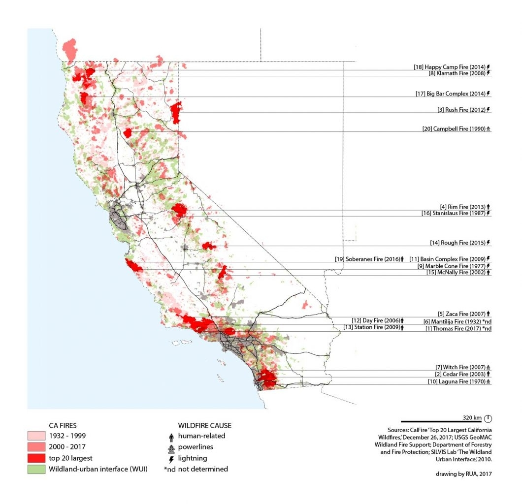 California Is Burning: Rethinking The Wildland/ (Sub)Urban within Wui Zone California