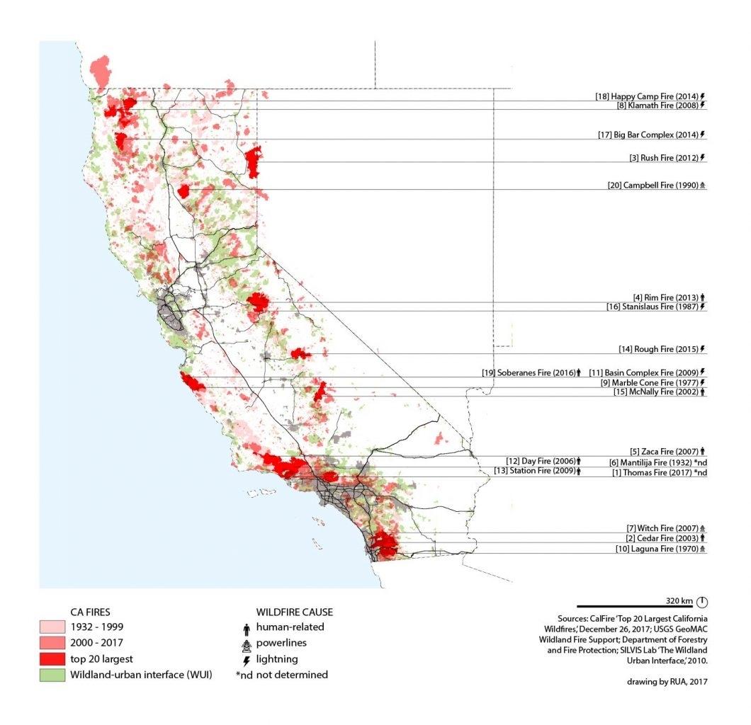 California Is Burning: Rethinking The Wildland/ (Sub)Urban within Wui Zone California
