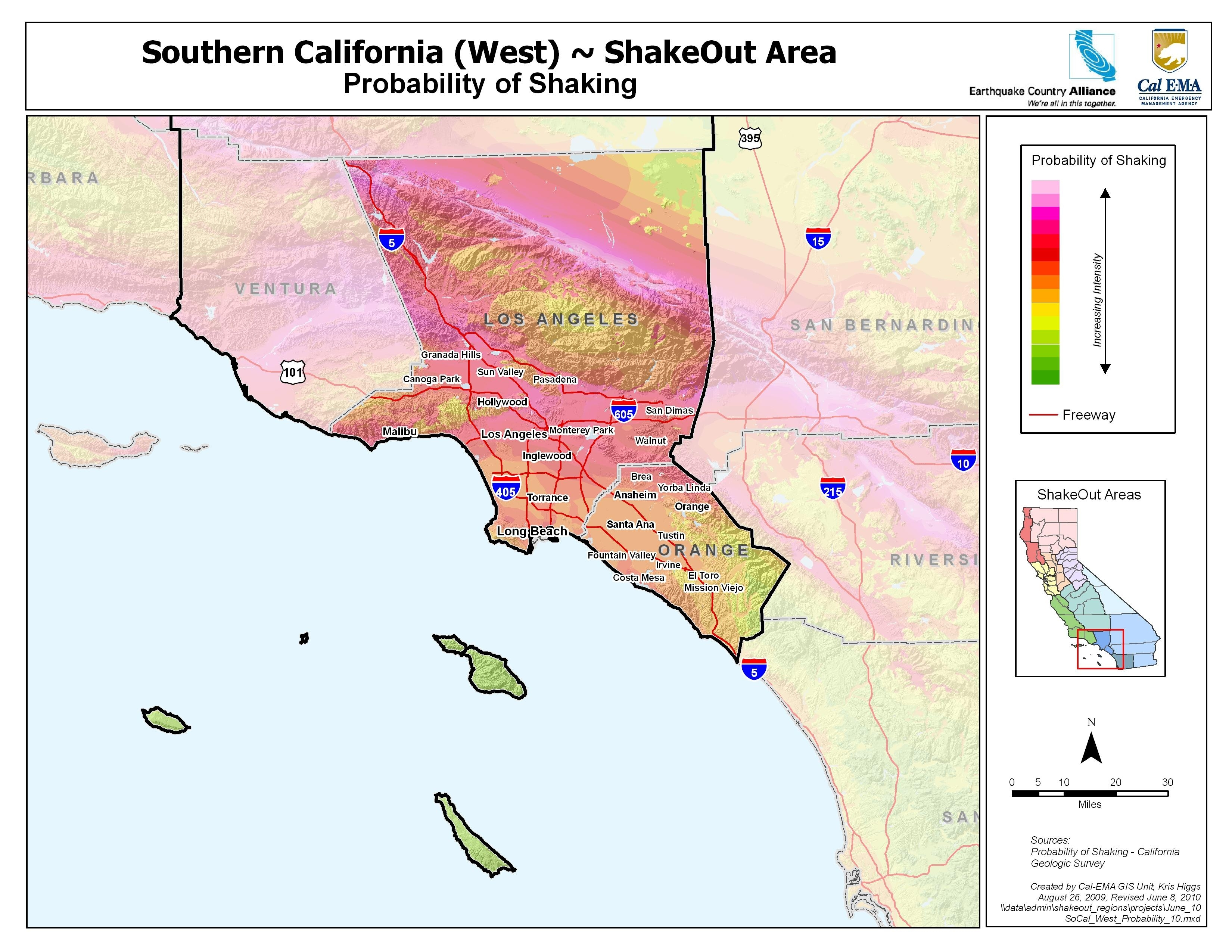 Earthquake Country Alliance: Welcome To Earthquake Country! inside California Coastal Zone Los Angeles County