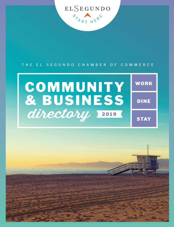 El Segundo Community & Business Directory, 2019 Edition throughout Boeing El Segundo Facility Map