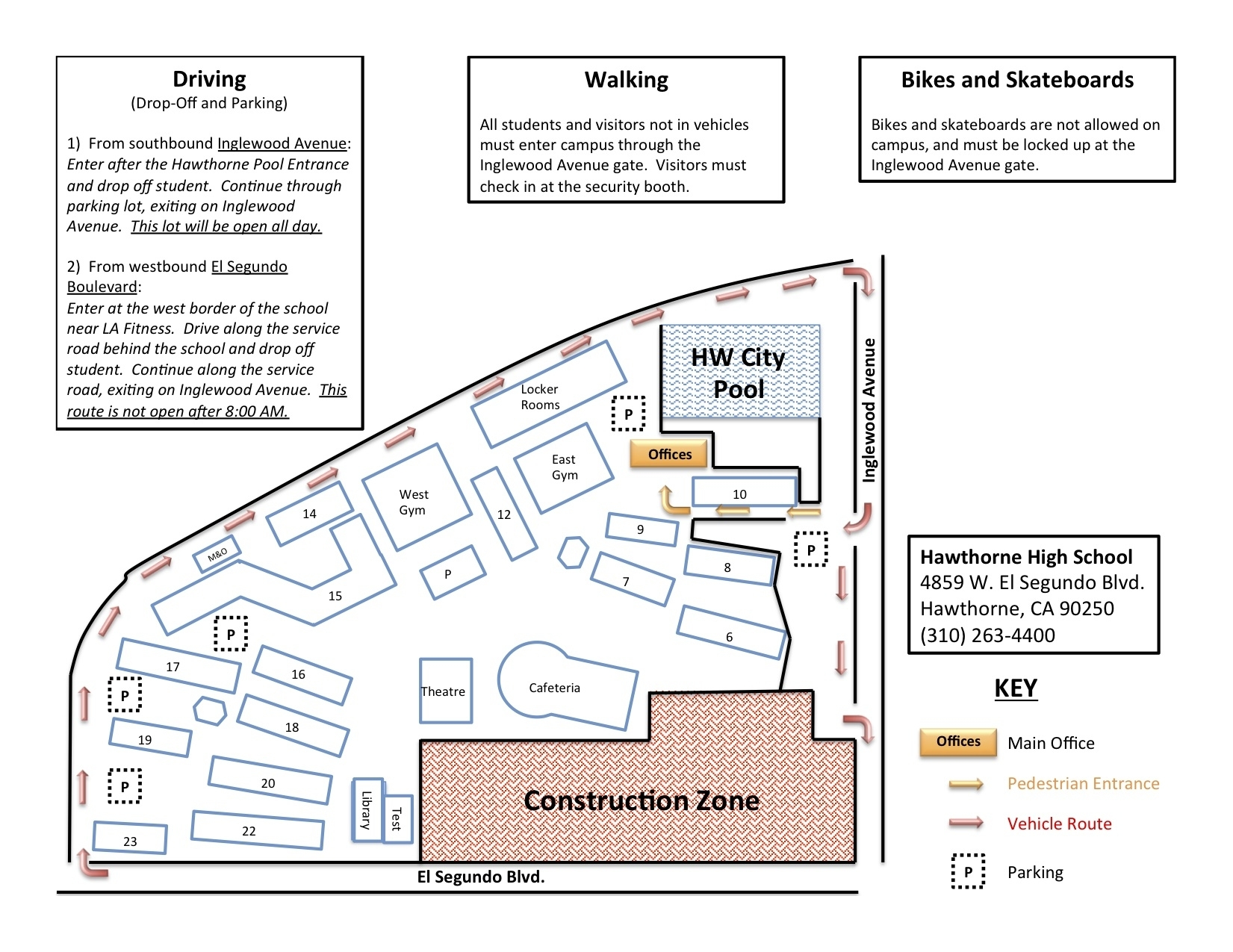 El Segundo High School Homework Help Latin Homework Help within Boeing El Segundo Facility Map