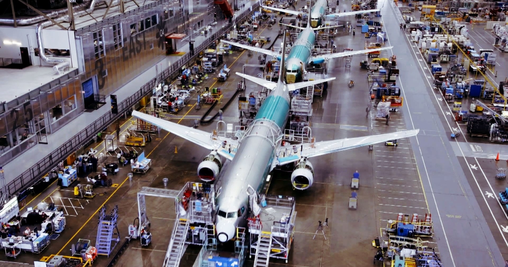 How Boeing Builds A 737 In Just 9 Days | Wired for Boeing Renton Plant Site Map