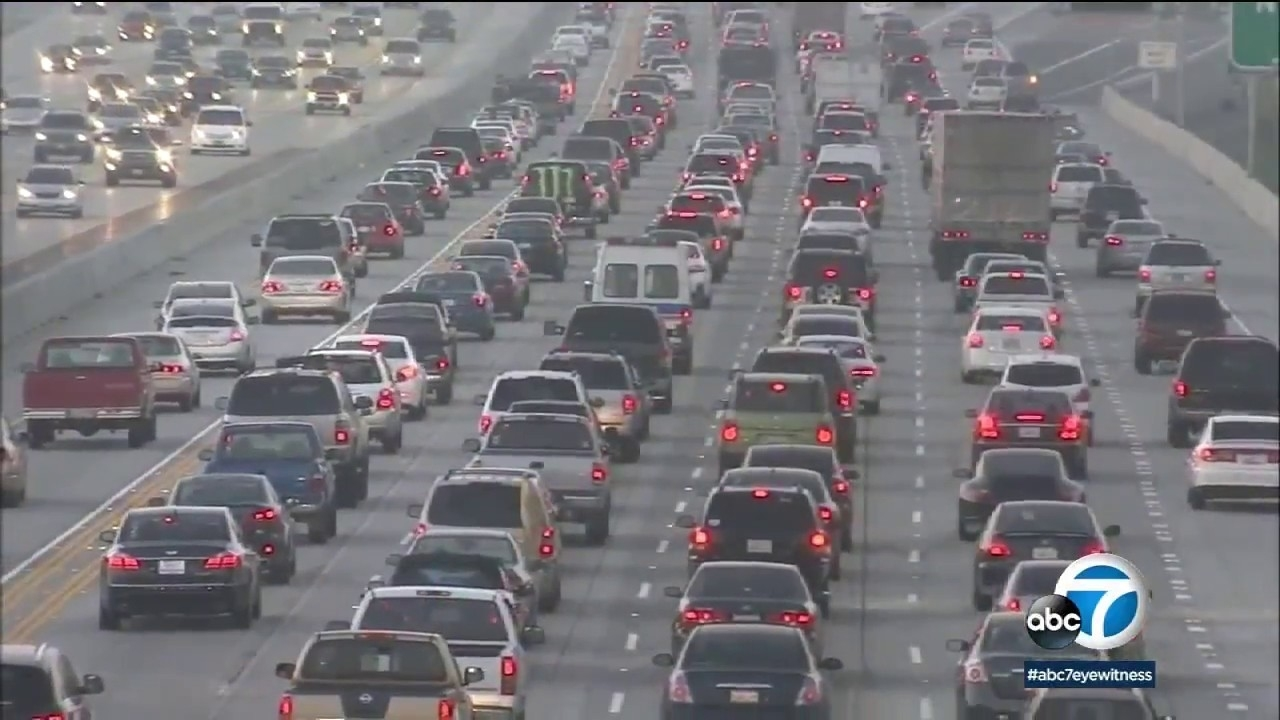 La Traffic Is Worst In World For 6Th Straight Year, Report Says | Abc7 in La Traffic