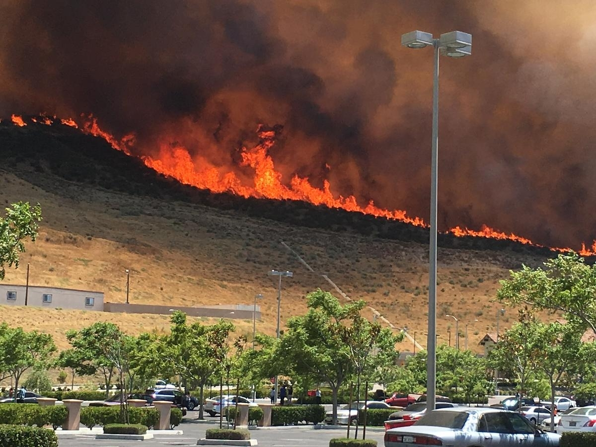 Map: See Where Wildfires Are Burning In California - Nbc intended for Fires In California Today