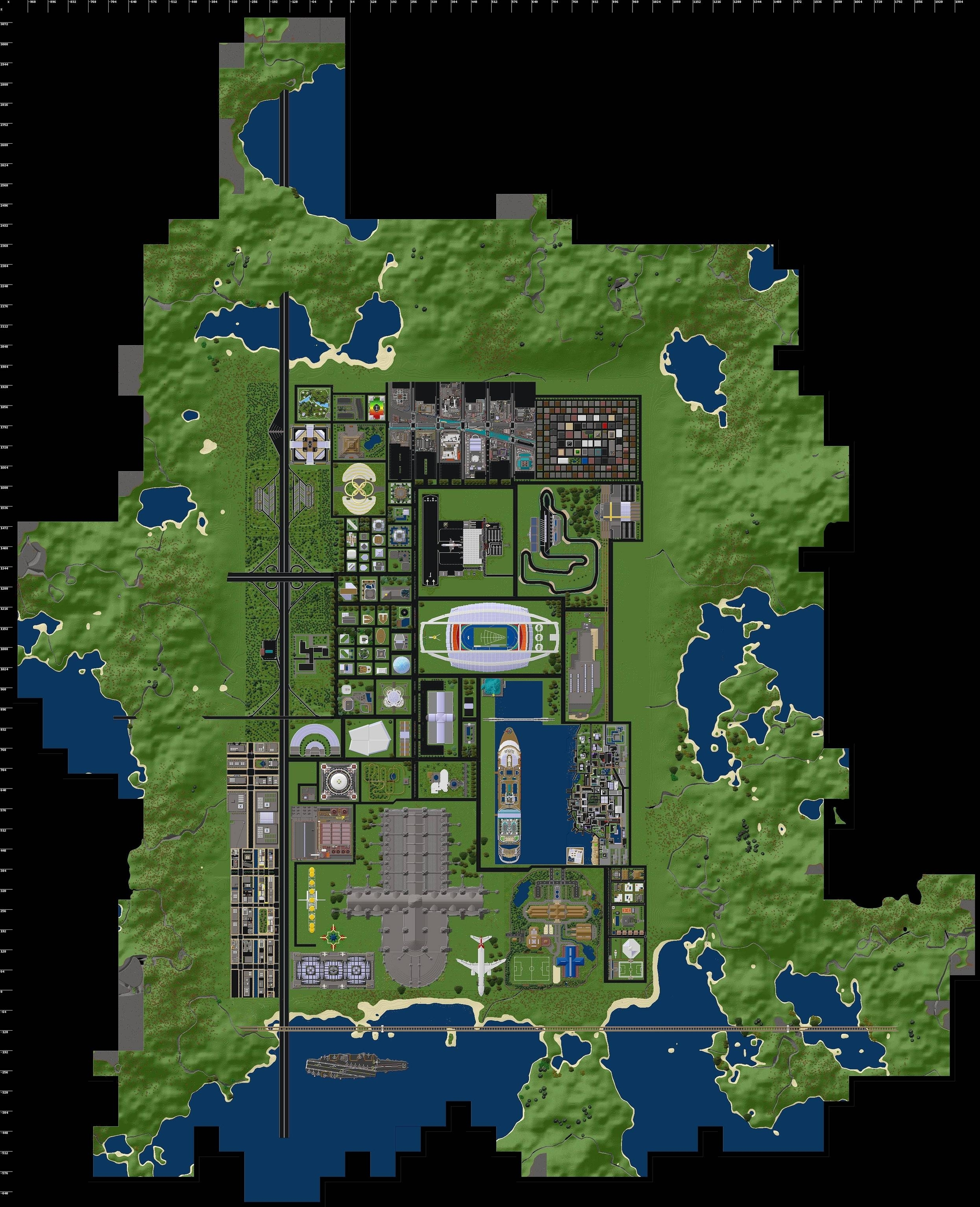 Minetest Forums • View Topic - [V2.1] New York City With regarding Decimation New York Map