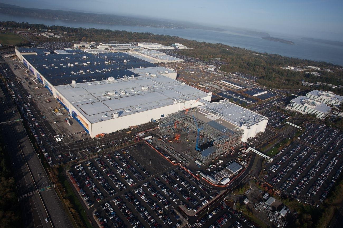 Pin On Aviationwe Got Planes! throughout Boeing Everett Factory Google Maps