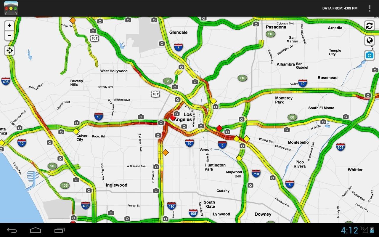 Sigalert - Traffic Reports Für Android - Apk Herunterladen intended for La Sigalert Traffic Map