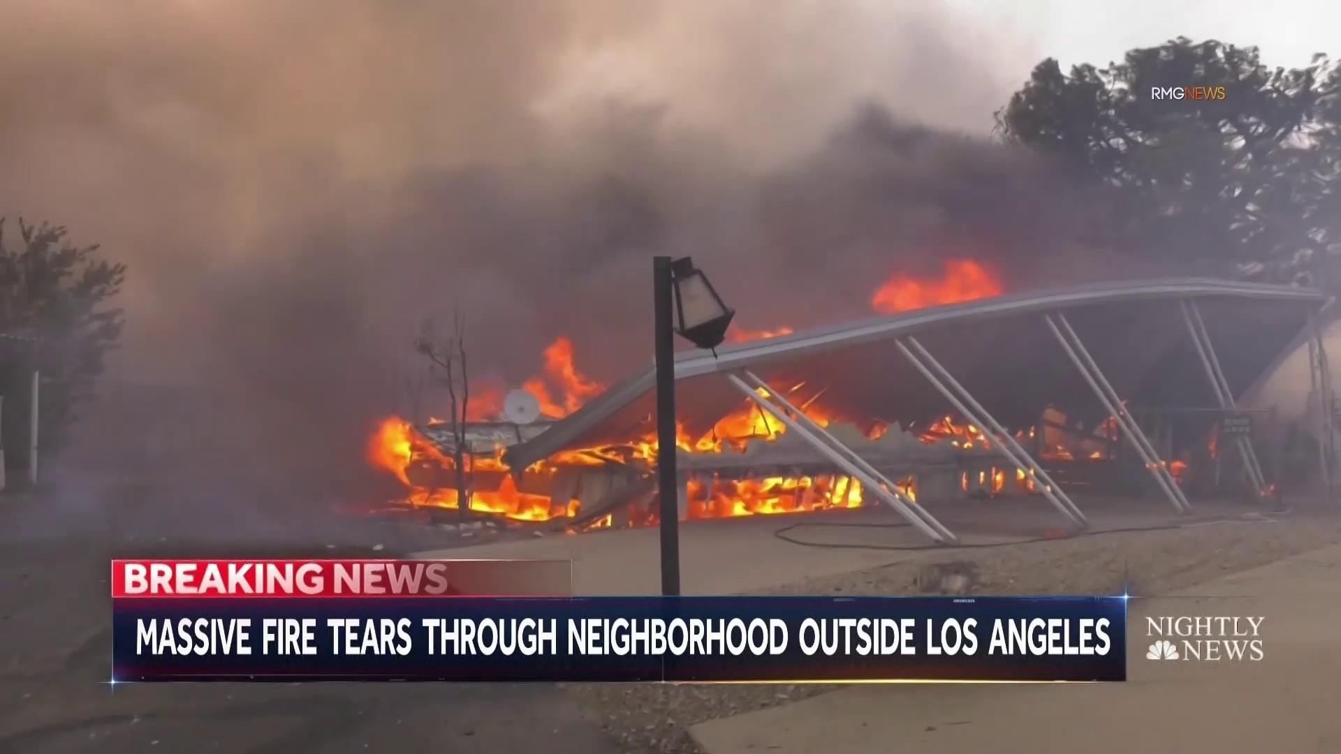 Southern California Erupts In Wildfires While Parts Of The State Have No  Power for Southern California Fires Today