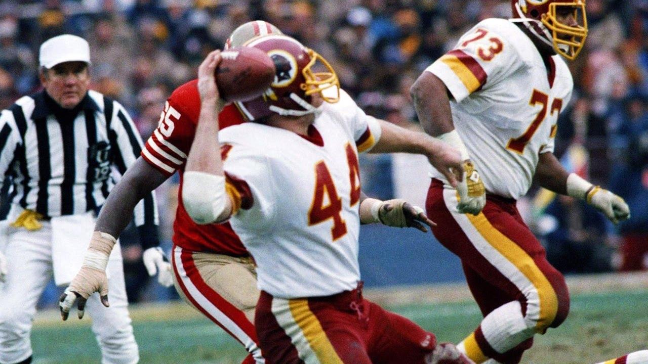 1983 Nfc Championship Game: 49Ers Vs. Redskins Highlights throughout Washington Redskins Nfl Championships 1992