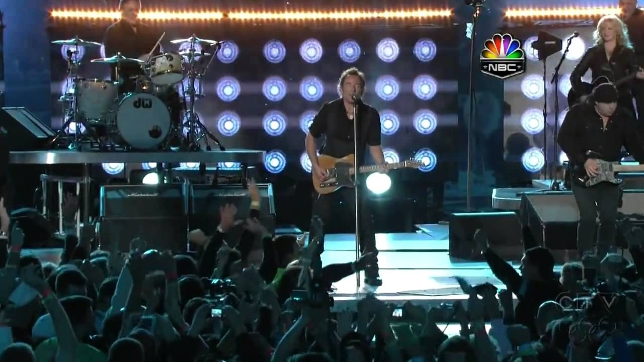 2009 Half Time Show Super Bowl - Bruce Springsteen (Hd)_(720P) regarding Bruce Springsteen Super Bowl