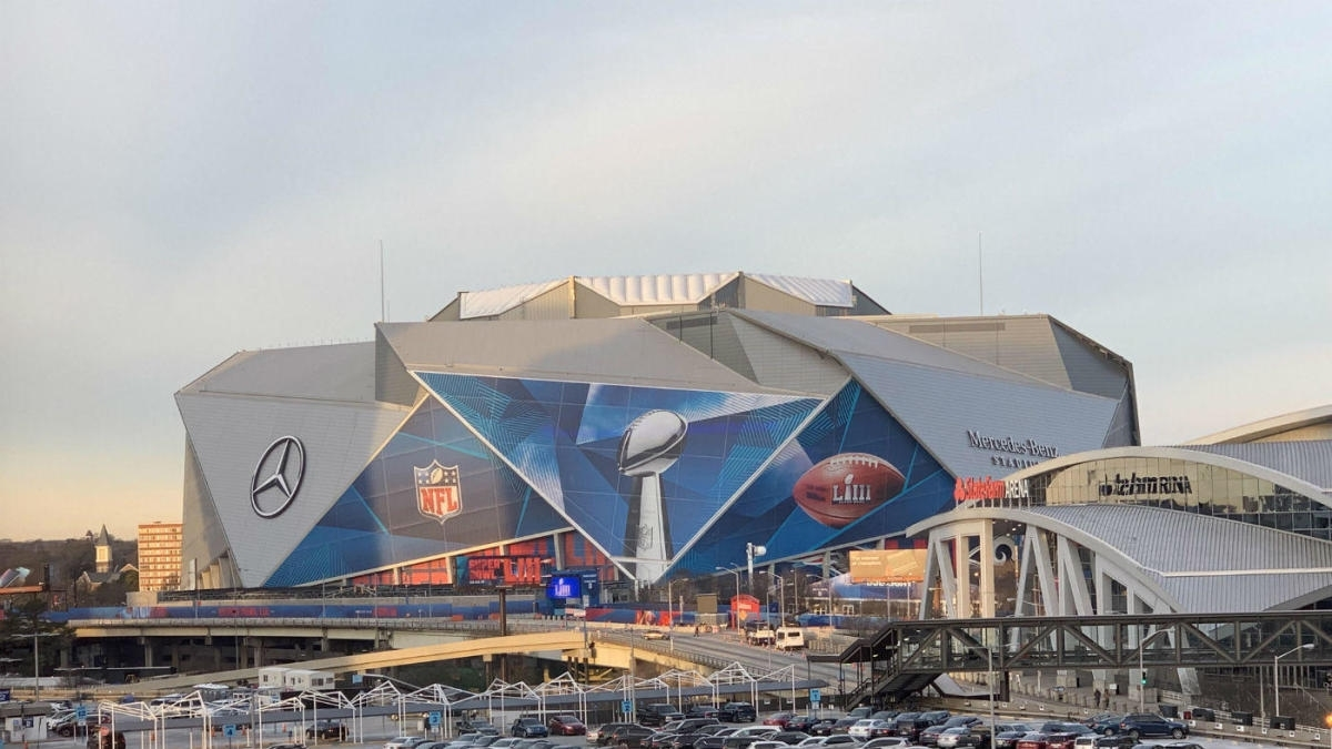 2019 Super Bowl Free Live Stream: Mercedes-Benz Stadium In with Super Bowl 2019 Stadium Address