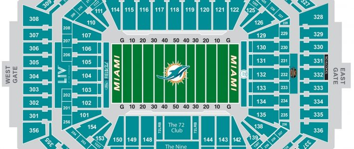 2020 Super Bowl Seating Chart | February 2, 2020 | Fan intended for Super Bowl Seating Chart Seat Numbers