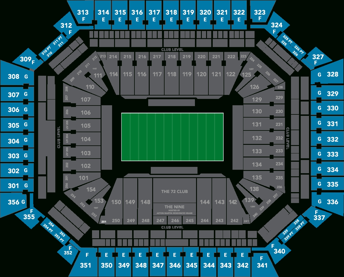2020 Super Bowl Tickets - Super Bowl Packages | Hof Experiences pertaining to Super Bowl Seat Map