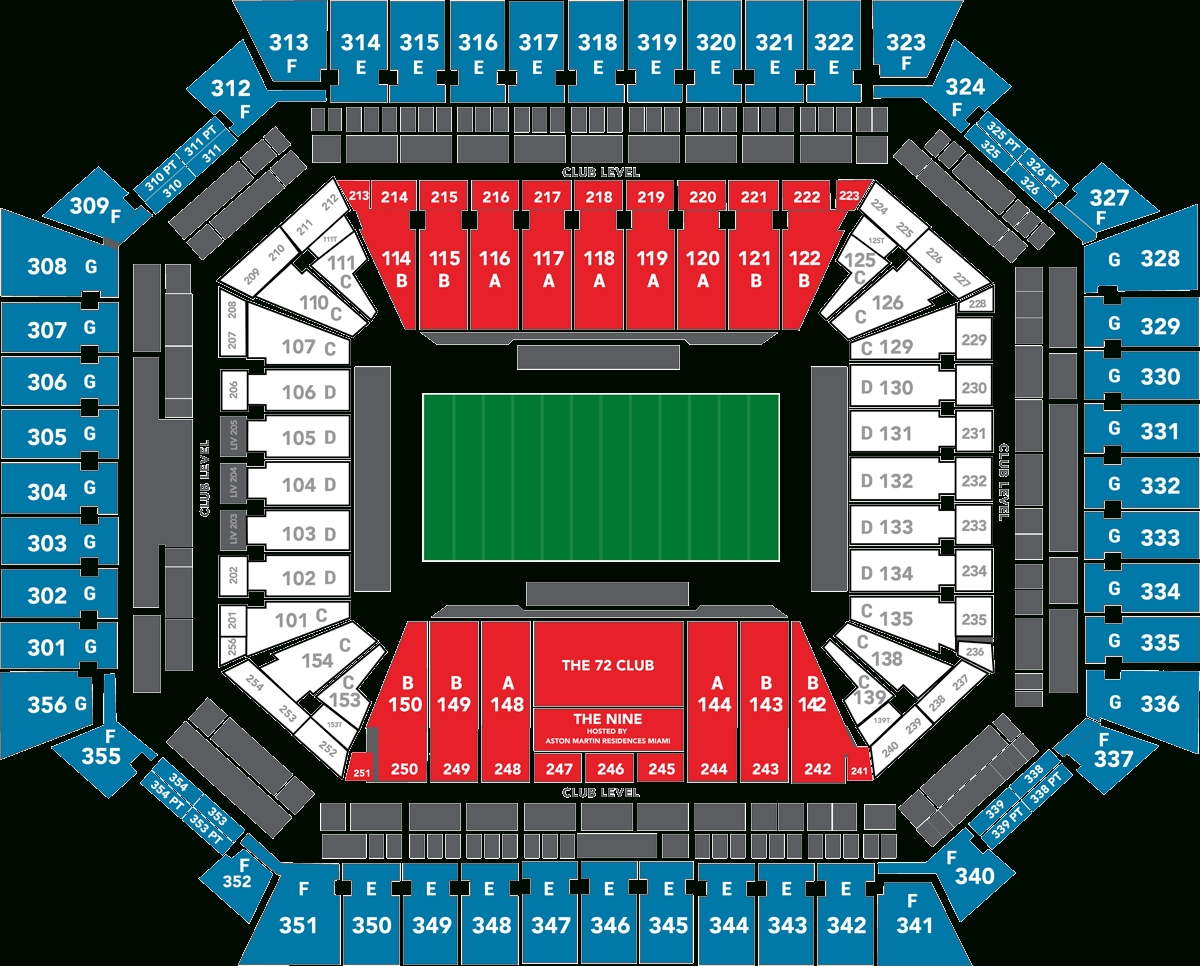 2020 Super Bowl Tickets - Super Bowl Packages | Hof Experiences with Super Bowl Seat Map