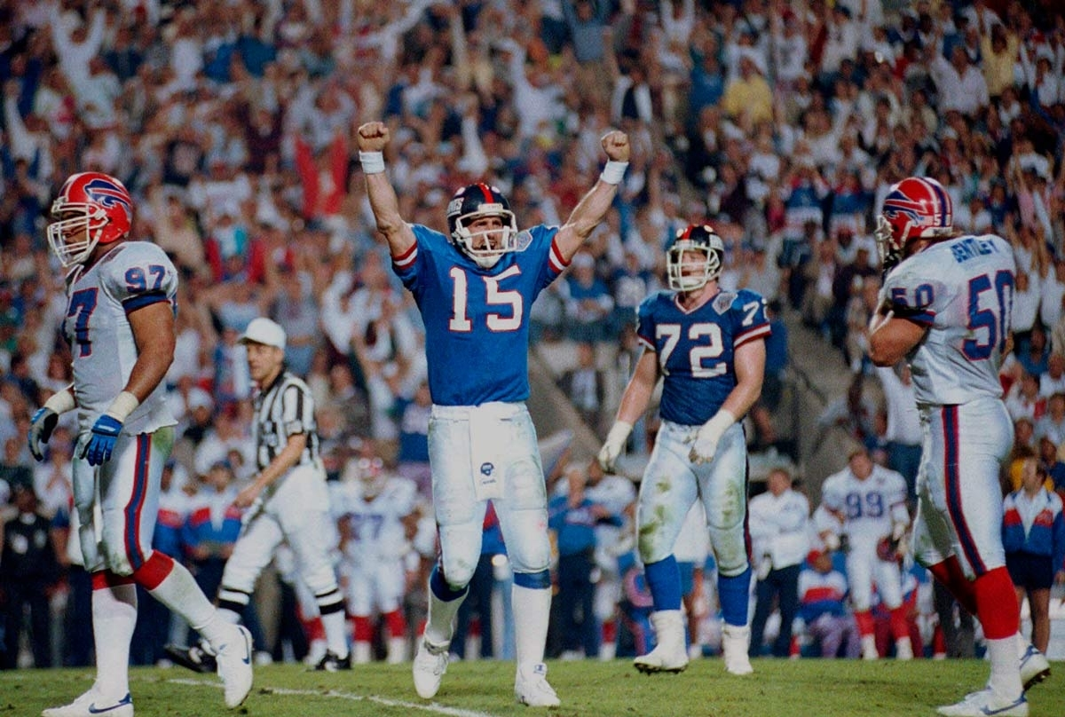 27 Years Ago, The Giants Edge The Bills 20-19 In Super Bowl Xxv within New York Giants Nfl Championships 1991
