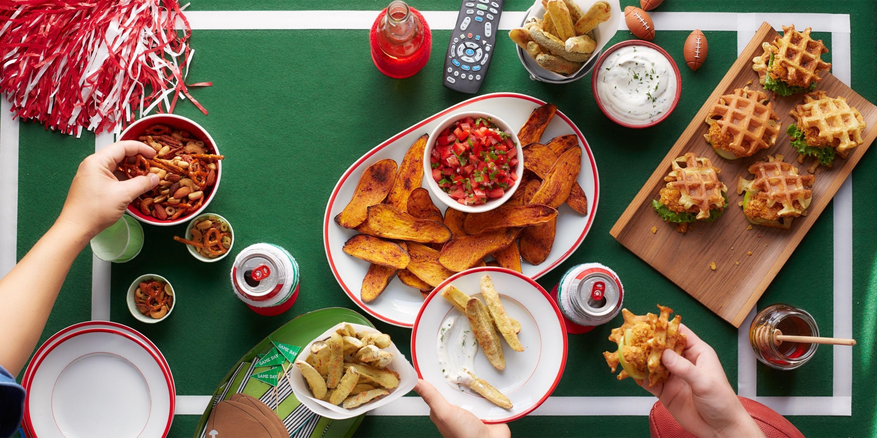 45 Super Bowl Snack Recipes - Football Party Food Ideas intended for Google Super Bowl Food Map