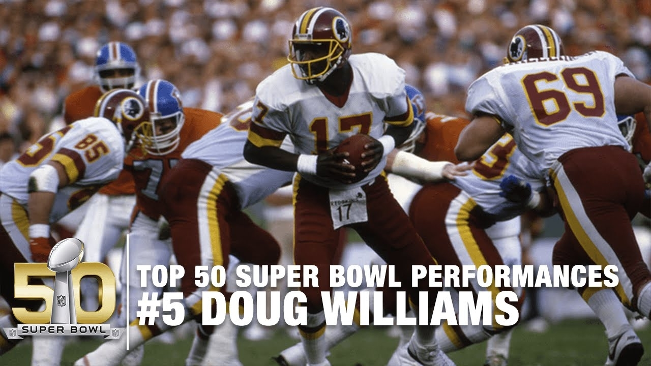 #5: Doug Williams Super Bowl Xxii Highlights | Redskins Vs. Broncos | Top  50 Sb Performances within Doug Williams Super Bowl