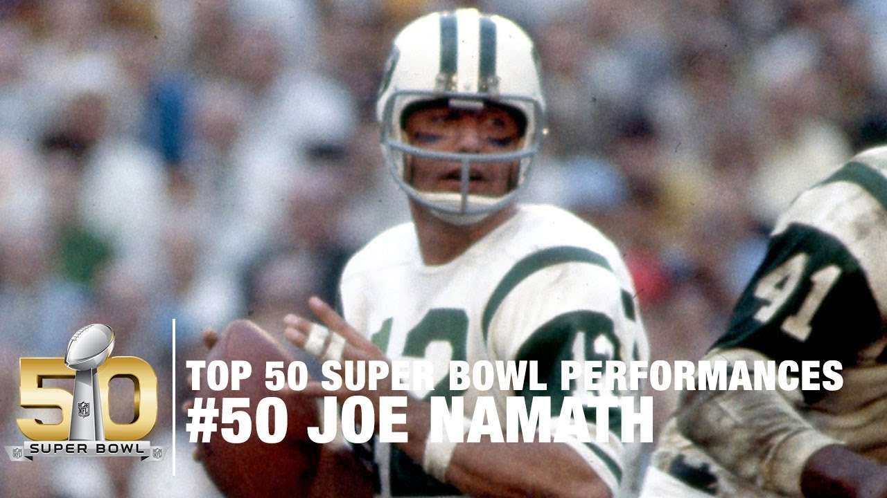 #50: Joe Namath Super Bowl Iii Highlights | Top 50 Super Bowl Performances with Joe Namath Super Bowl