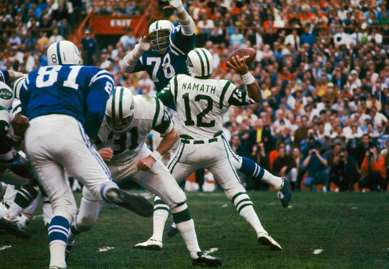 50 Years Ago Today, Joe Namath, Jets Stunned The Football regarding Joe Namath Super Bowl