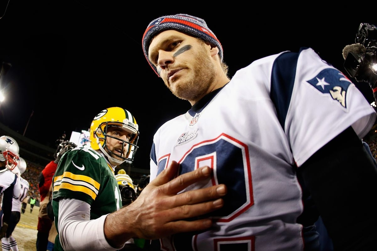 7 Times We Missed Out On A Tom Brady Vs. Aaron Rodgers Super intended for Aaron Rodgers Super Bowl