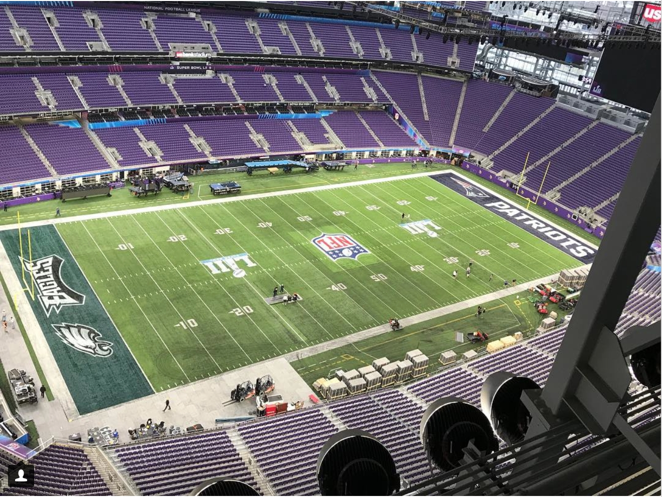 A Close Look At Super Bowl Field Design Through The Years with Super Bowl Board Layout