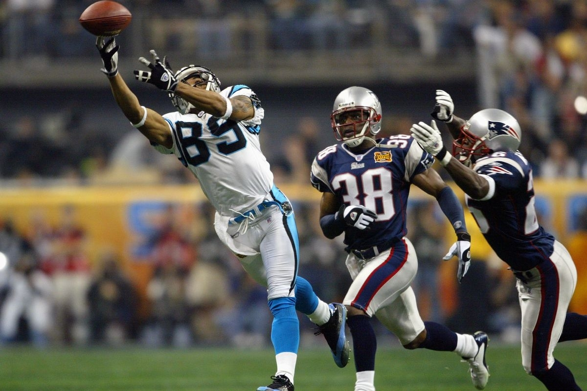 A Look Back At The Panthers' First Super Bowl Appearance in Patriots Panthers Super Bowl