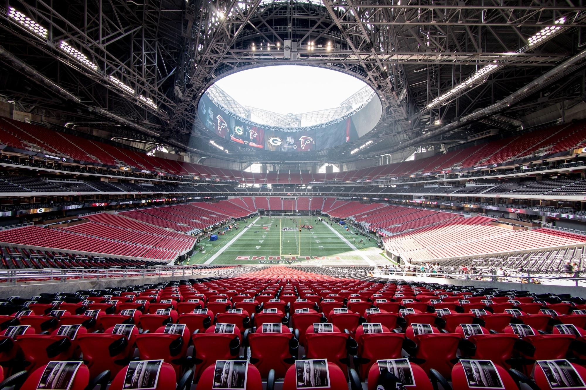 Atlanta Super Bowl Liii Host Committee Announces Official inside Super Bowl Stadium Address