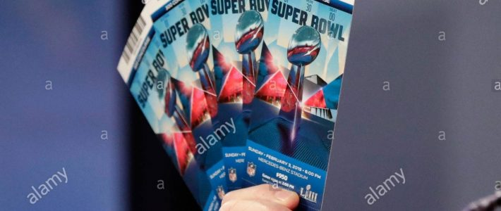Authentische Super Bowl Karten Sind In Einem Super Bowl Liii pertaining to Super Bowl Liii Tickets