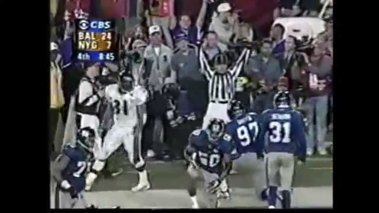 Baltimore Classics: The Ravens Put Away Super Bowl Xxxv within Ravens Giants Super Bowl