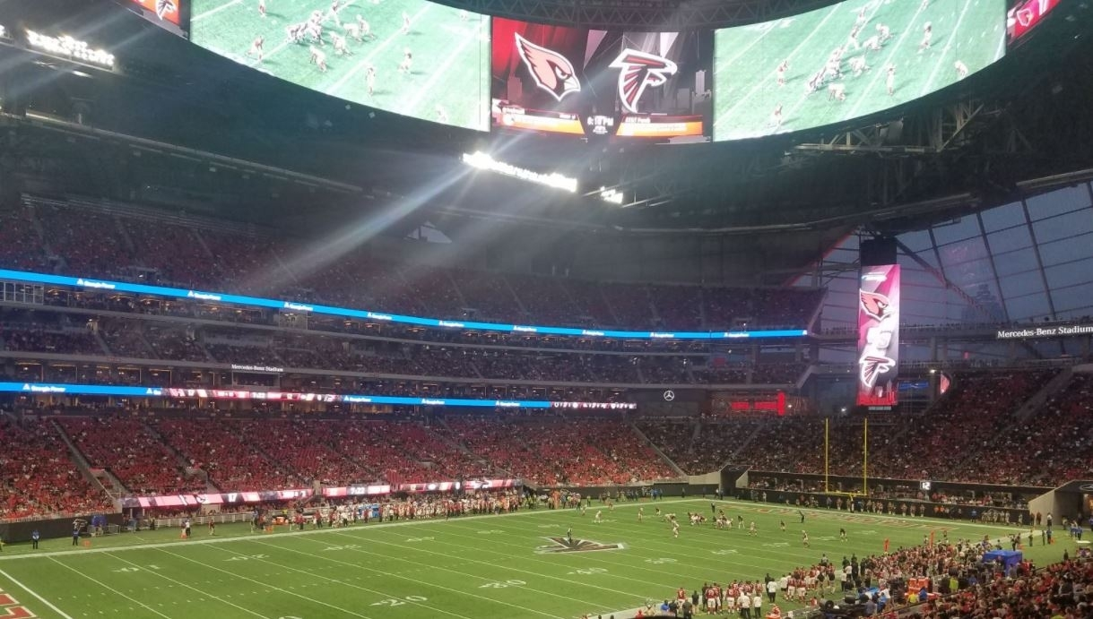 Best Seats For Great Views Of The Field At Mercedes-Benz inside Atlanta Stadium Super Bowl Seating Capacity