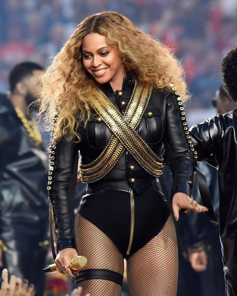 Beyoncé's Super Bowl 2016 Nails | Popsugar Beauty Australia with Beyonce Super Bowl 2016