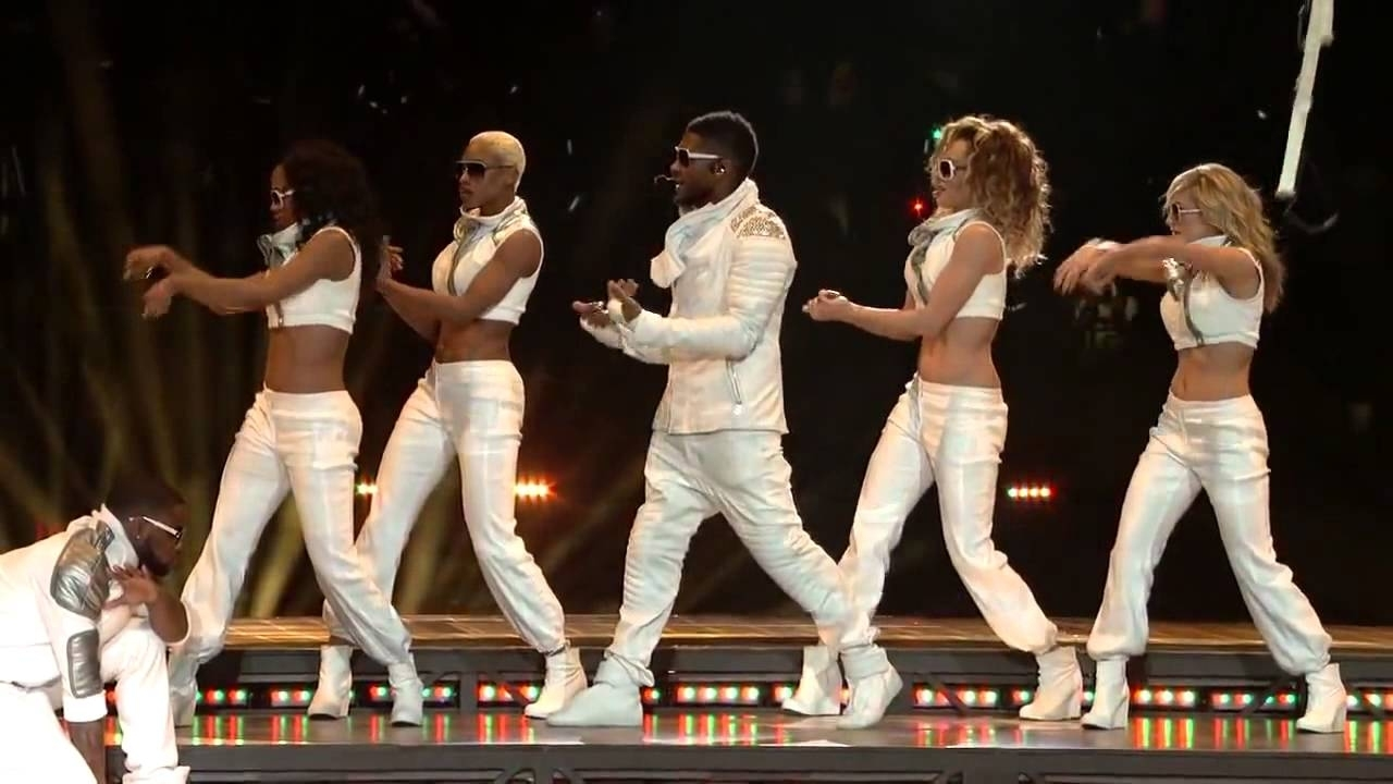 Black Eyed Peas - Superbowl Halftime Show Hd 2011 Xlv Nfl regarding Black Eyed Peas Super Bowl