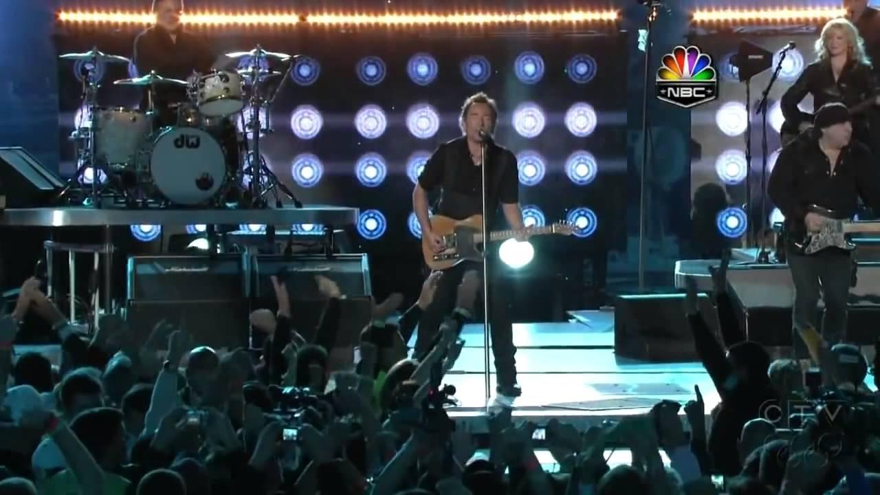 Bruce Springsteen - Superbowl Halftime Show Hd 2009 Xliii Nfl with regard to Bruce Springsteen Super Bowl