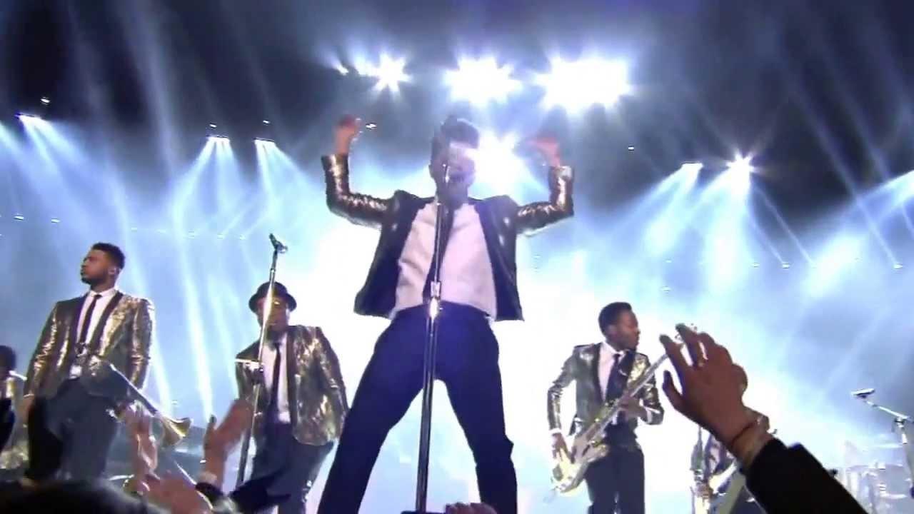 Bruno Mars Superbowl Halftime Show Feb. 2, 2014 intended for Bruno Mars Super Bowl 2014
