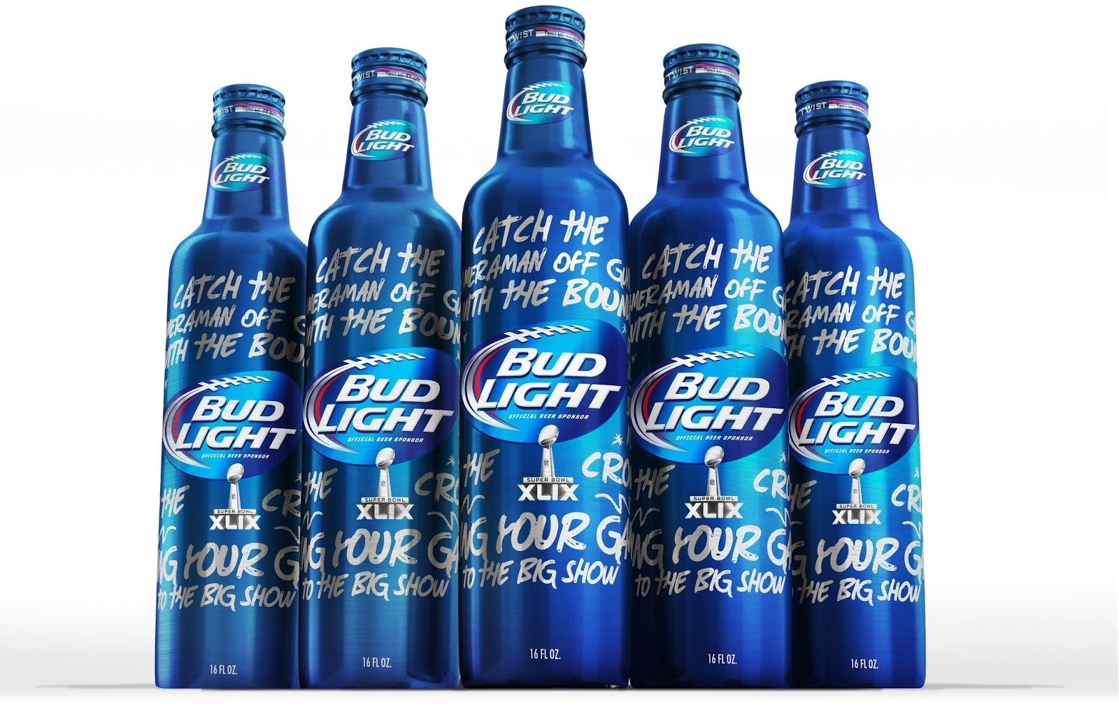 Bud Light Super Bowl Xlix Limited Edition Bottle On pertaining to Bud Light Super Bowl