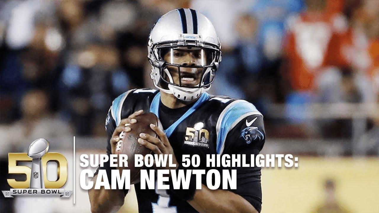 Cam Newton Super Bowl 50 Highlights | Panthers Vs. Broncos | Nfl throughout Cam Newton Super Bowl