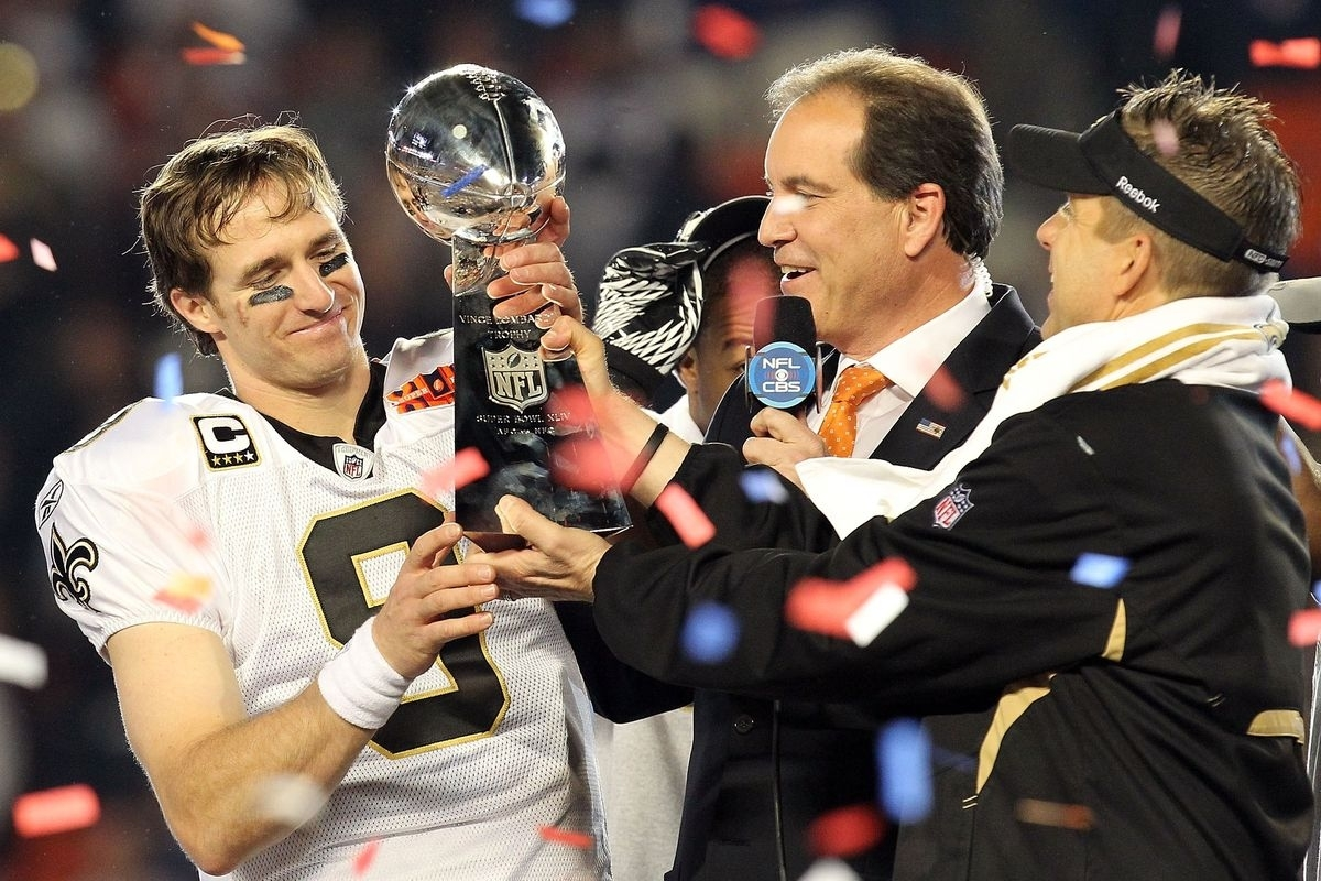 Can 2018 Finally Be Drew Brees's Mvp Year? - Canal Street with Drew Brees Super Bowl