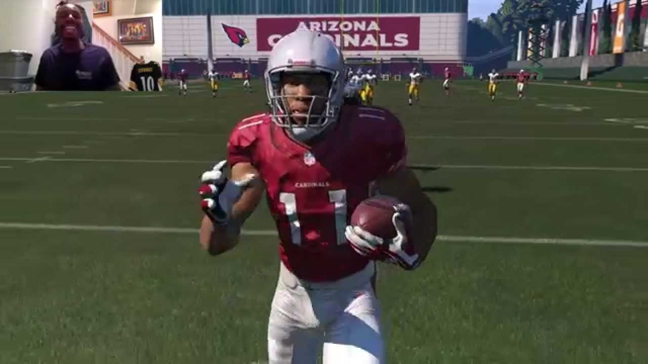 Can I Recreate Larry Fitzgerald's 64Yd Td Catch From Super Bowl Xliii?  Madden 15 Gameplay inside Larry Fitzgerald Super Bowl